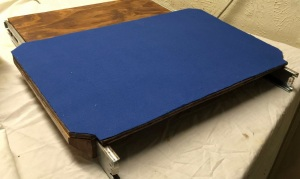 felt material for sliding monitor tray