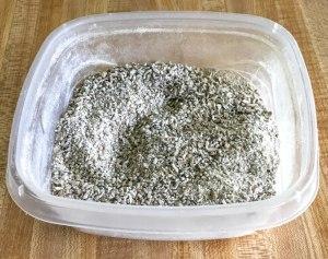 coarse rye flour for sourdough baking