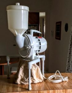 flour mill for sourdough baking
