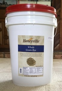 rye grain honeyville 40 lb