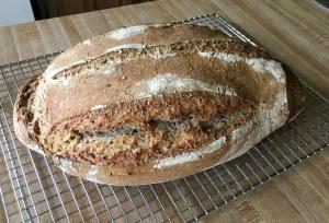 sourdough rye-wheat bread German Graubrot rye bread