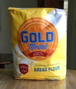 sourdough baking rye bread wheat flour